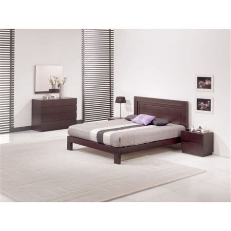 deco chambre adulte contemporaine chambre adulte contemporaine wenge lazzio lit 160x200