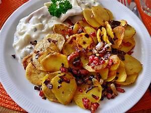 Bratkartoffeln Wrzig Mit Speck Und Zwiebel Von Maja72