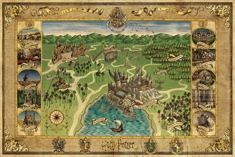 Song Of Ice And Fire Wallpaper Nerdovore Fantasy World Maps Harry Potter