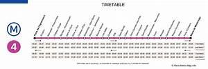 Horaire Ouverture Metro Paris : ligne 4 m tro de paris paris metro ~ Dailycaller-alerts.com Idées de Décoration
