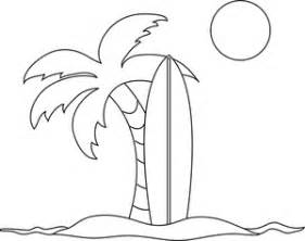 coloring pages clip art images coloring pages stock photos clipart - Palm Tree Beach Coloring Page