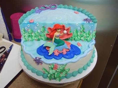 Mermaid Cakes, Little Mermaid Cakes And Cute Mermaid On