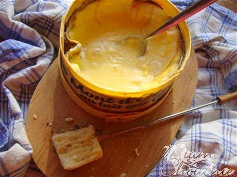 fondue au mont d or miam chouchie