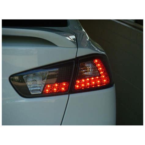 08 12 Mitsubishi Lancer Evo X Jdm Style Led Tail Lights