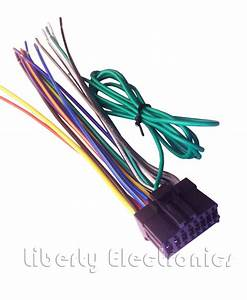 New 16 Pin Auto Stereo Wiring Harness Plug For Pioneer