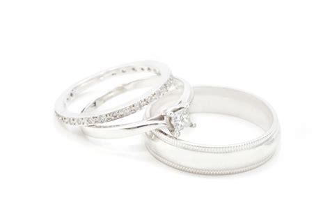 platinum engagement ring settings platinum wedding engagement set wedding rings pictures