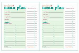 7 best images of printable dinner party menu templates With party menu planner template