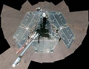Self-Portrait by Freshly Cleaned Opportunity Mars Rover ...