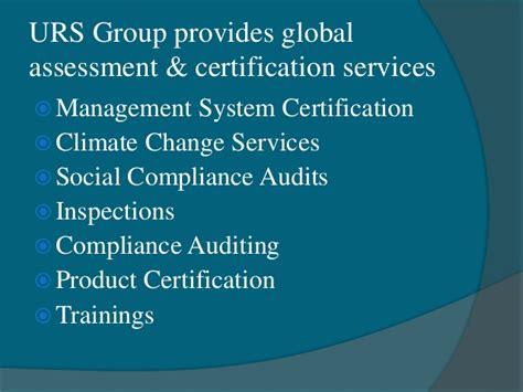 iso  standard certification