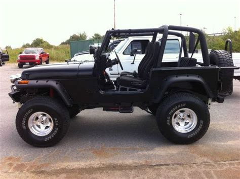 jeep wrangler 2 door modified buy used custom 1994 jeep wrangler sport utility 2 door 4