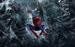 Spiderman | Spiderman Jumping Wallpaper | Superheros ...
