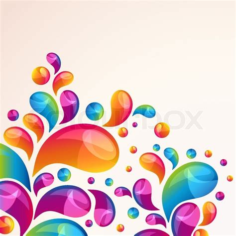 splash vector background cover template stock vector