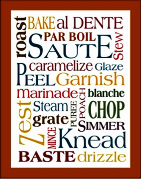 The Basic Kitchen Glossary Of Cooking Terms — Les Petites