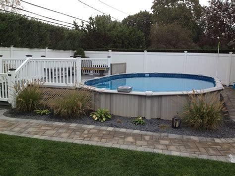 Luxury Above Ground Pools With Decks