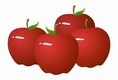 Clipart Apples Apple Bunch Clip Transparent Cliparts