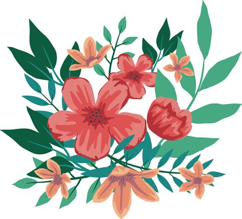 Bouquet Drawing Shading - 일러스트 꽃 Png Clipart - Full Size ...