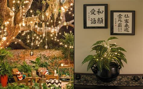 gorgeous ways  decorate  home  fairy lights