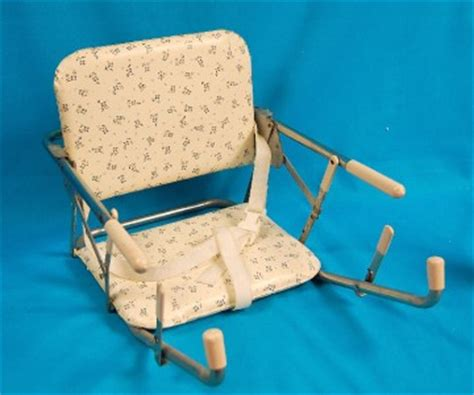 high chairs that attach to tables for babies vtg bilt rite booster seat baby feeding portable high