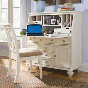 Drop Secretary Desk Home Furniture Design White Secretary Desk Design