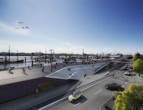 Hadid Hamburg by Hamburg River Promenade In Germany By Zaha Hadid Architects