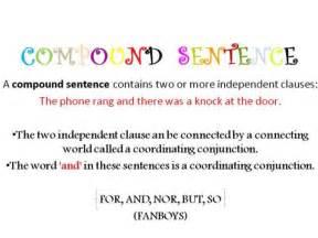compound sentences by marfileno
