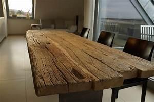 Holztisch Massiv Esszimmer : zwinz tisch altholz eiche massiv zapfenloch bank f r das esszimmer pinterest altholz ~ Indierocktalk.com Haus und Dekorationen