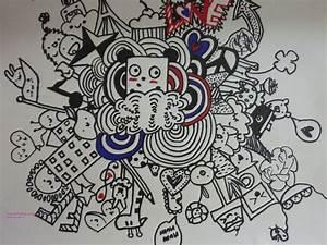 Doodle Art / Doodling Graffiti 落書きアート | Doodles, Manga ...
