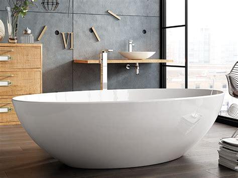 Freistehende Badewanne Die Moderne Badeinrichtungminimalistische Freistehende Badewanne by Freistehende Badewanne Mineralguss Badewanne
