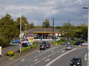 Shell Garage, Countess Wear Roundabout © Anthony Vosper