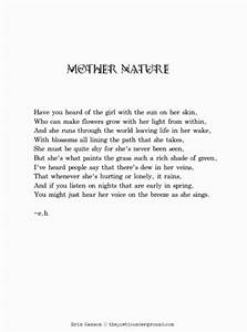 Mother Nature #poem #poetry thepoeticunderground.com ...