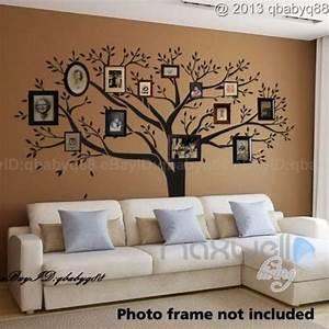 Giant family photo tree wall decor sticker vinyl art