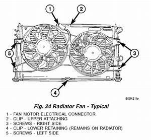 Radiator Fans Not Working  2006 Dodge Stratus Radiator