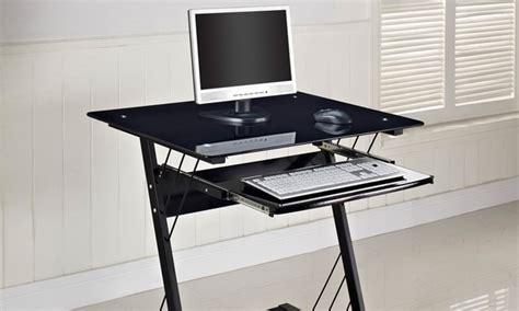 black gloss computer desk black high gloss computer desk groupon goods