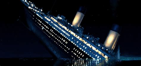 Titanic Sinking Gif by Giphy Gif