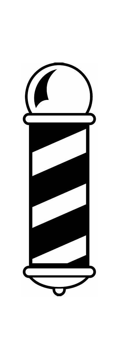 Barber Pole Clip Clipart Graphic 1001freedownloads Vectorhq