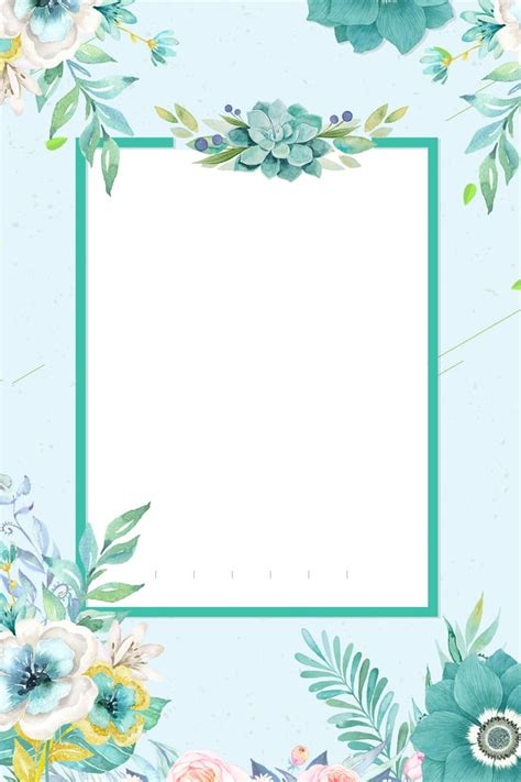 Find the perfect invitation card stock photos and editorial news pictures from getty images. Fresh Fresh Flowers Invitation Card Hand Painted Flowers, Blue, Fresh Blue, Fresh Background ...