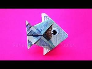 Fische Basteln Aus Geld Geldgeschenke Fische Geld Falten Fisch