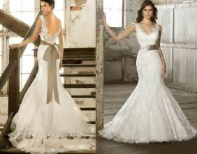 custom made wedding dresses wedding dresses new mermaid lace wedding dress 2052624 weddbook