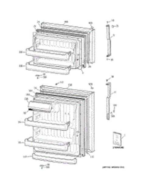 Parts For Ge Gts18fbsarww Refrigerator