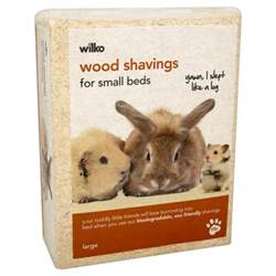 Pine Bedding For Rabbits by Wilko Pet Bedding Wood Shavings Large Pack At Wilko