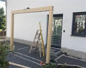 Haustür Selber Bauen : vordach pfosten vordach pinterest vordach pfosten ~ Lizthompson.info Haus und Dekorationen