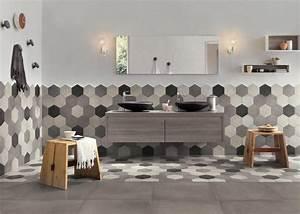 un carrelage facile dentretien dans la salle de bain With entretien salle de bain