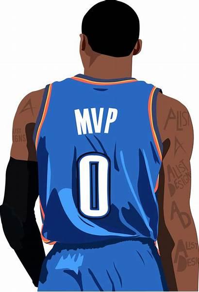 Nba Westbrook Russell Basketball Clipart Transparent Jerseys