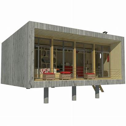 Tiny Plans Diy Homes Micro Modern Cabin