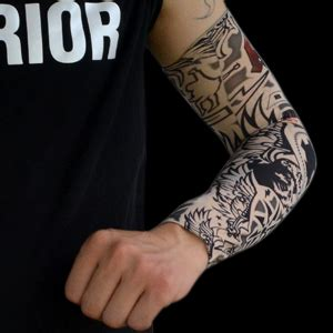 amazoncom hoveox pcs temporary tattoo arm sleeves arts