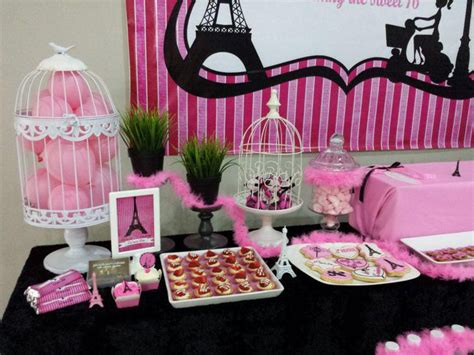 37 Sweet 16 Birthday Party Ideas  Table Decorating Ideas