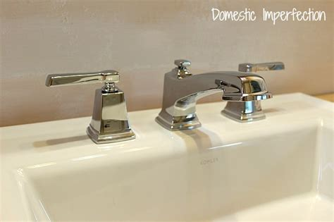 Bathroom Remodel  Installing A Faucet And Sink Domestic