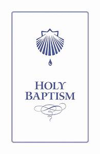 Churchpublishing Org  Holy Baptism Booklet With Envelope