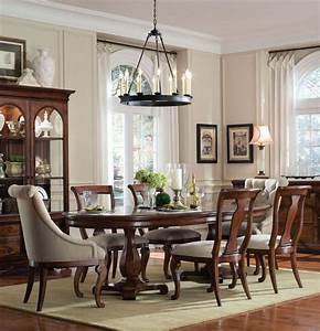 home gallery furniture for formal tables 7 pc margaux With formal oval dining room sets