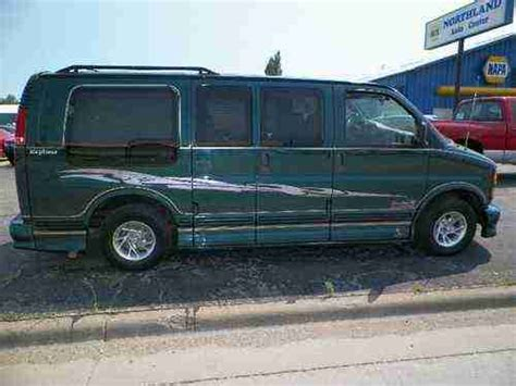 auto air conditioning repair 1998 gmc savana 1500 electronic throttle control purchase used 1998 gmc savana 1500 sle conversion van 3 door 5 7l in webster south dakota